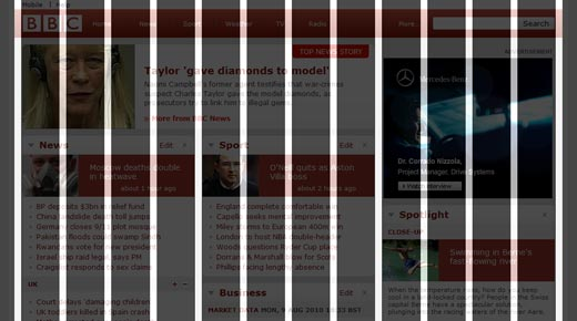 Grid-fox Firefox addon to grid overlay